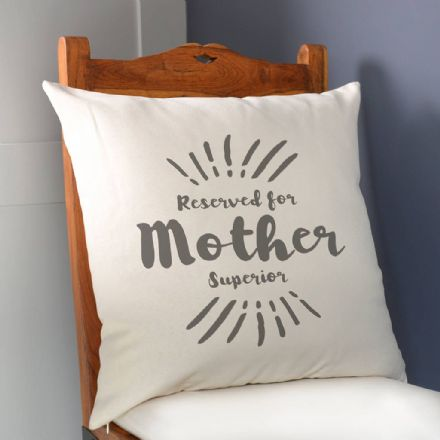 Personalised Mother Superior Cushion